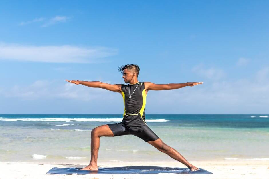 Warrior II or Virabhadra Yoga Pose